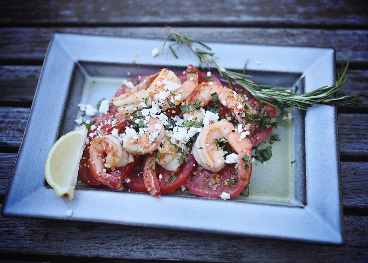 Chef Robert Happy Diabetic Shrimp Scampi